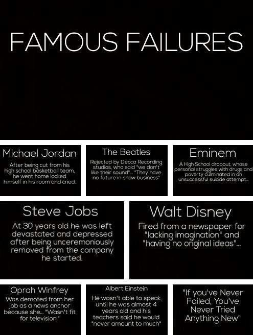 Inspirational Quotes About Strength Failure Means Nothing More Then Mesmerizing Succeeding Quotes