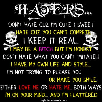 Jealousy Quotes To All My Haters Quotes Pictures Of Hater Quotes