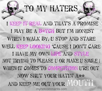 Jealousy Quotes To My Haters Quote Quotes Of The Day Your