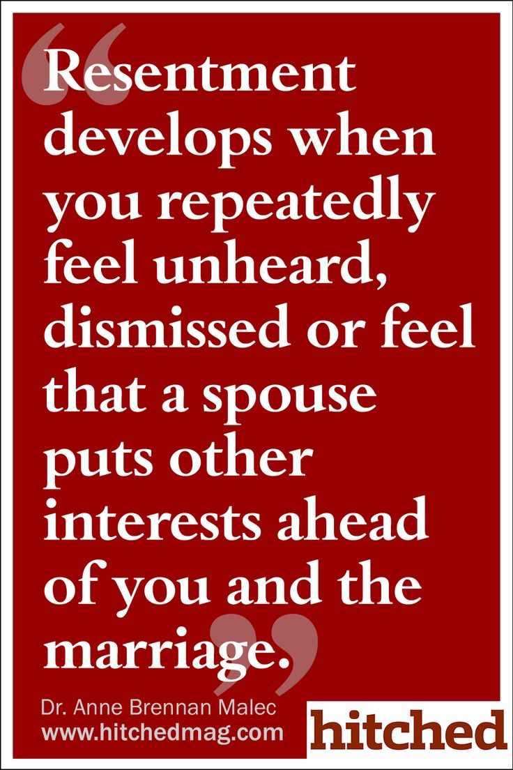Love Quotes Husband Love Quotes  Resentment Develops When You Repeatedly Feel Unheard