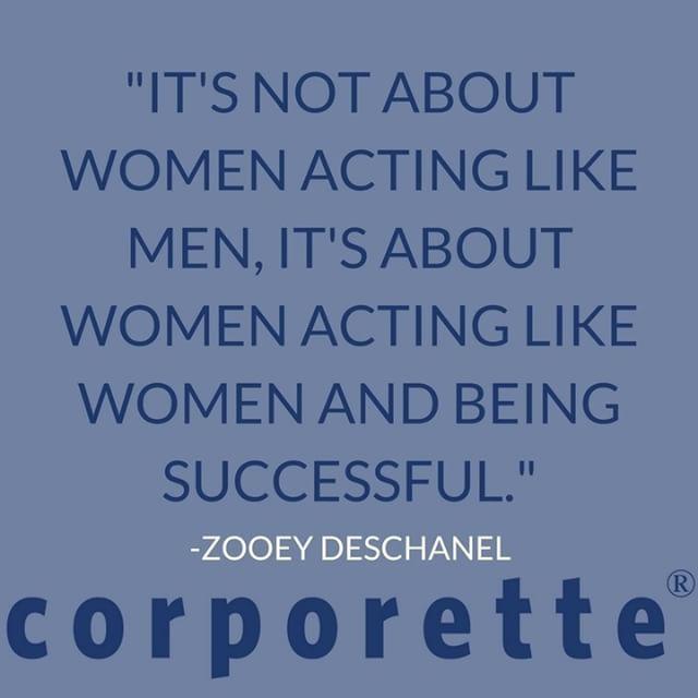 women acting like men