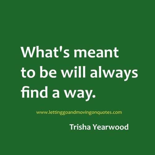 Success Quotes Whats Meant To Be Will Always Find A Way