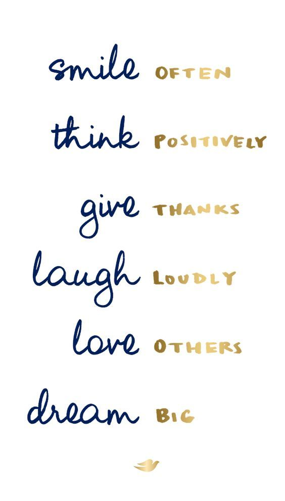 Trust Quotes Smile Often Think Positively Give Thanks Awesome Live Laugh Love Quotes Short Quotes