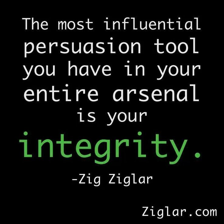 Wisdom Quotes Integrity Doing What You Say Being True To