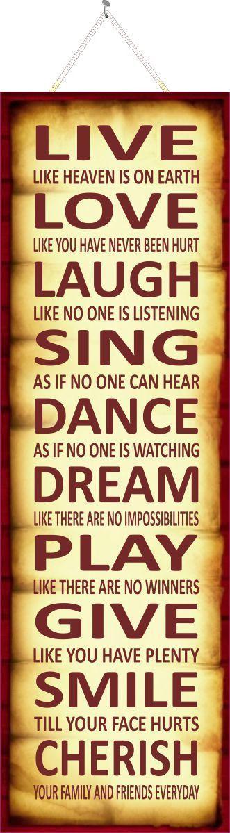As The Quote Says U2013 Description. Live, Love, Laugh ...