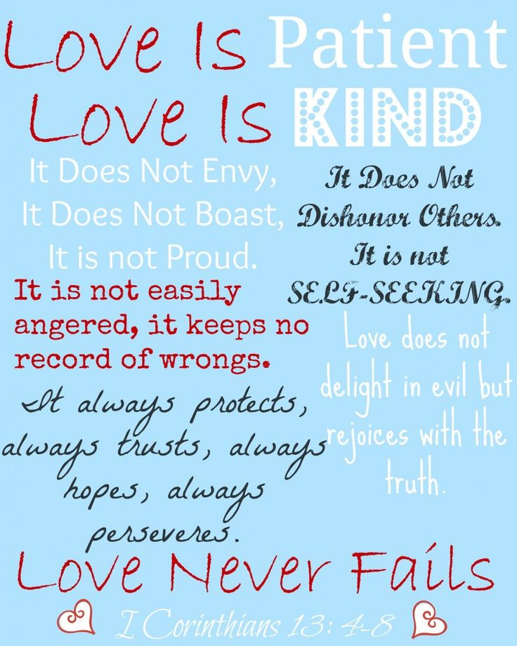 Printable Love Quotes Prepossessing Love Quotes  Free Printable Of I Corinthians 13  An Update On