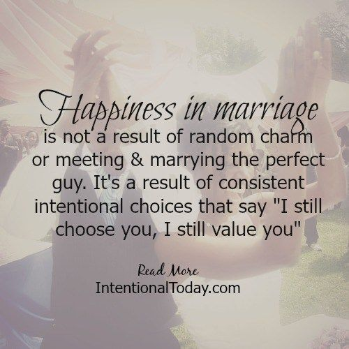 Love Quotes Happiness In Marriage Is A Result Of Deciding To Love