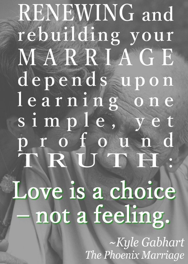 Love Quotes Renewing And Rebuilding Your Marriage Depends Upon