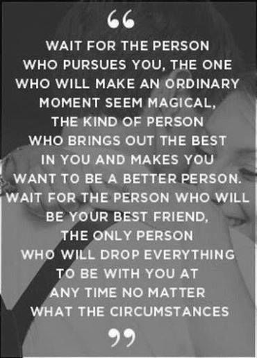 Wait For The Person Love Quotes Quotes Quote Couple Relationship Fascinating Magical Love Quotes