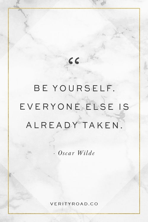 Motivational Quotes Be Yourself Everyone Else Is Already Taken