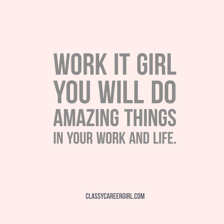 Motivational Quotes : Work It Girl. .instagram.