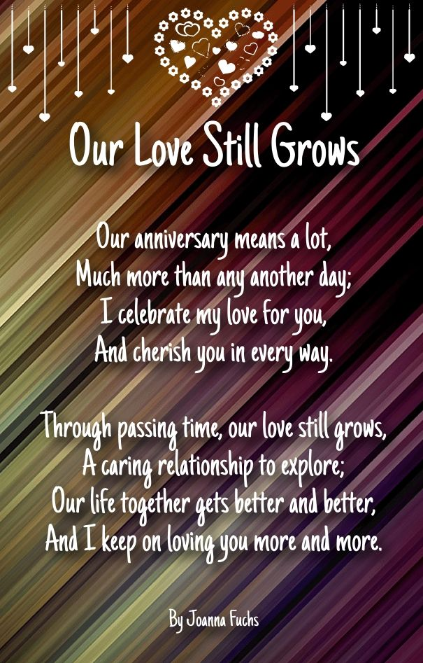 As The Quote Says Description Wedding Anniversary Poems