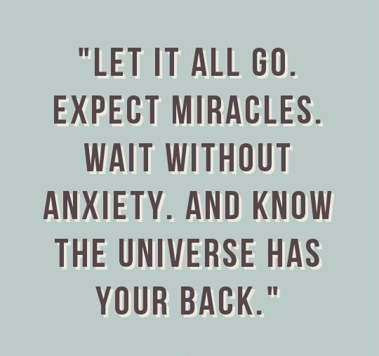 Success Quotes The Universe Will Always Have Your Back