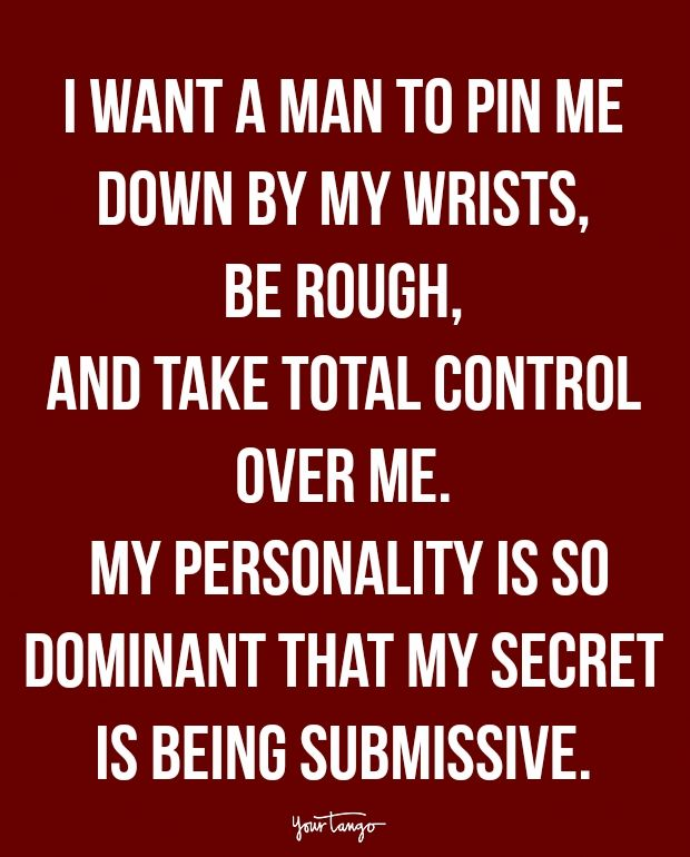 submissive to dominant quotes