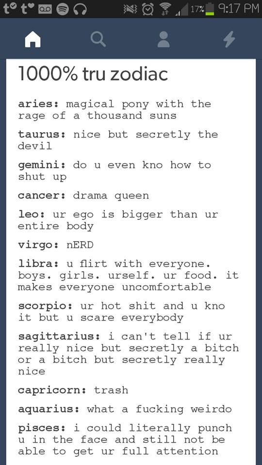 Common Short Quotes Glamorous Horoscopes Quotes  I Really Don't Have An Ego Idk Why This