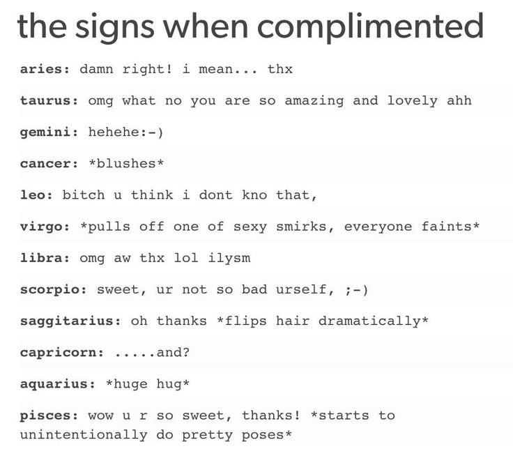 Zodiac Signs Quotes Horoscopes Quotes  The Way Zodiac Signs React When Complimented .