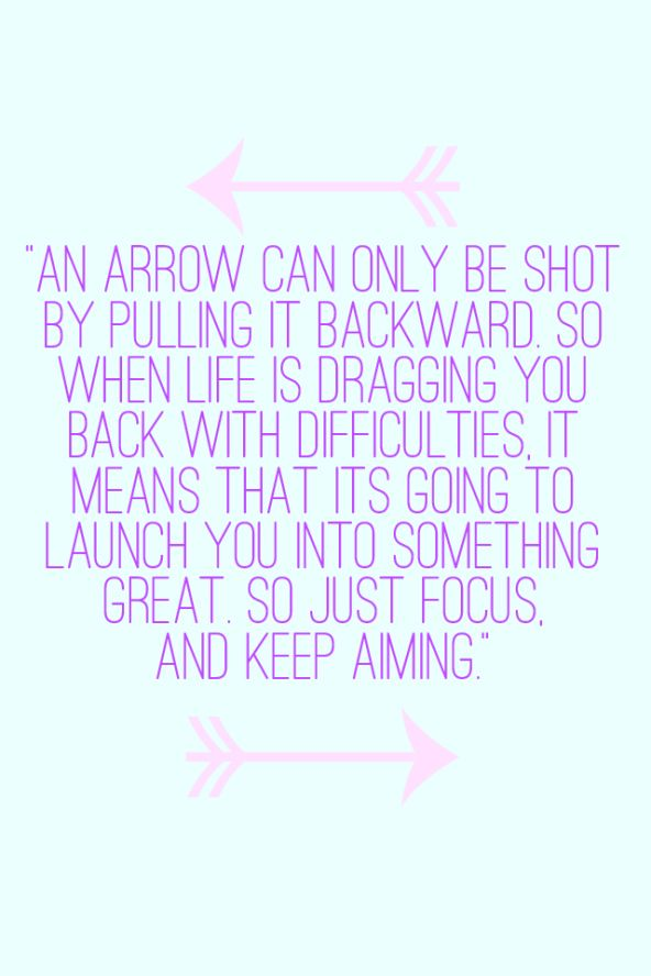 Arrow Quotes Life New Motivational Quotes  An Arrow Can Only Be Shotputting It
