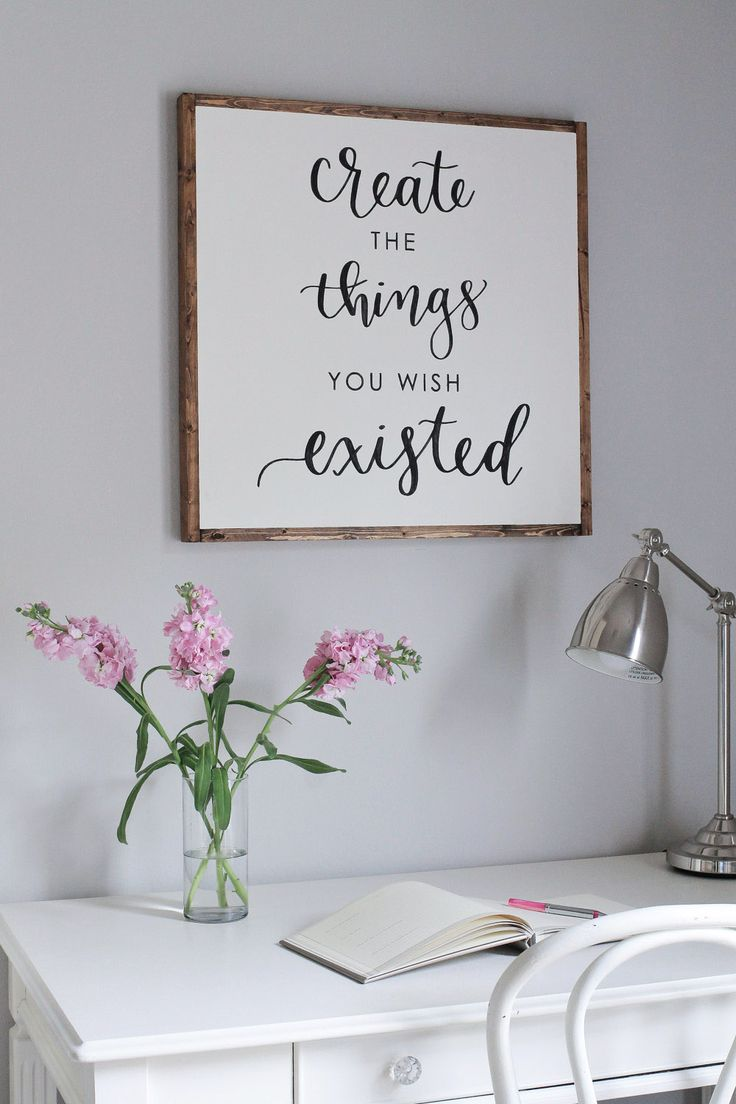 Free Daily Quotes Motivational Quotes  Free Diy Wood Framed Sign Tutorial And A