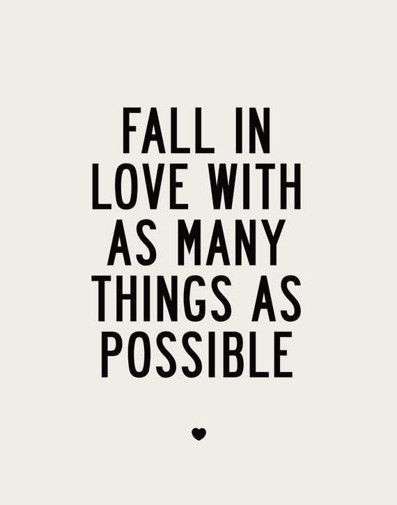 As The Quote Says U2013 Description. Fall In Love