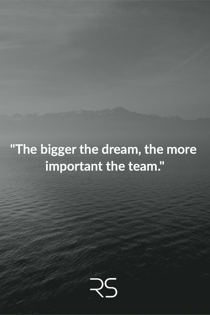 "Dream Quotes Inspirational Quotes About Work  ""the Bigger The Dream The More"