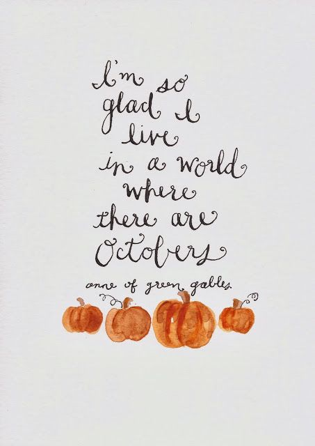 As The Quote Says Description Hello October