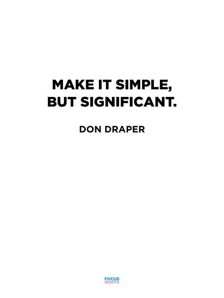 quotation simple