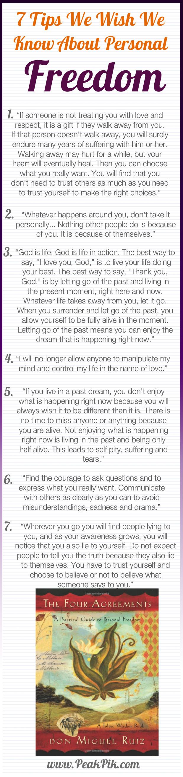 Success Quotes Daily Tips And Motivation The Four Agreements A
