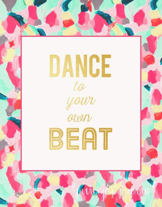 As The Quote Says Description Dance
