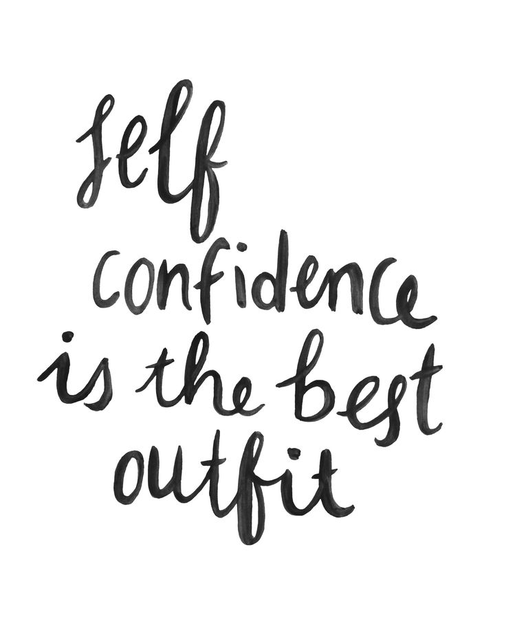 Cute Quote Print Self Confidence Add To Cart Cute Quote Print