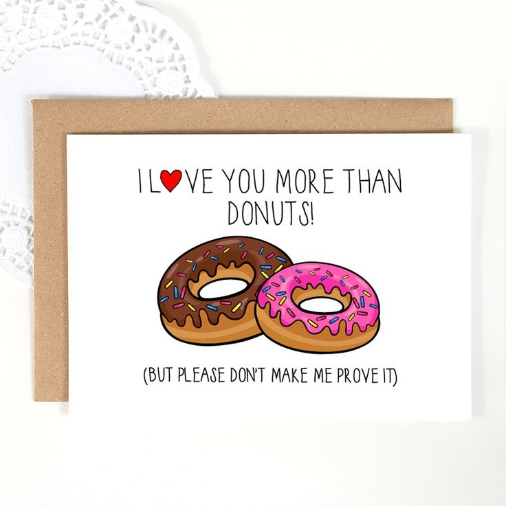 I Love You More Than Quotes Funny: Funny I Love You More Than Donuts Quotes Pinterest