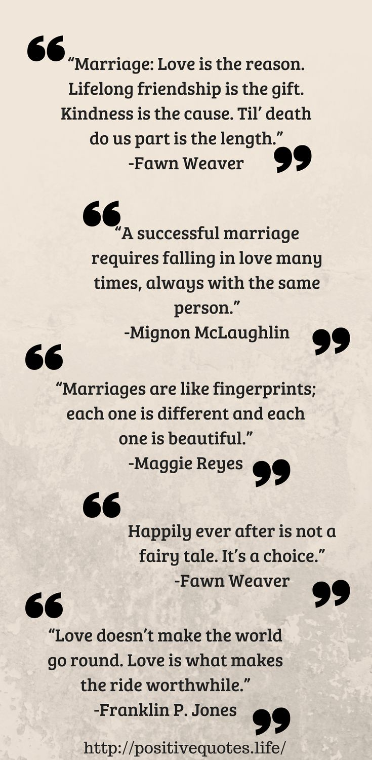 Positive Quotes 15 Positive Quotes About Marriage For A Happy Life