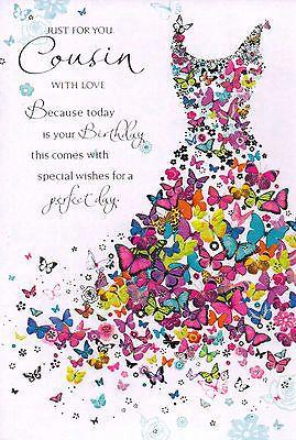 Cousin Birthday Card Sayings