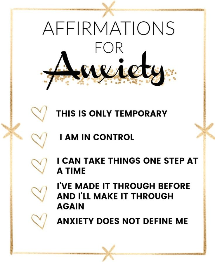 Success Quotes Affirmations That Help With Anxiety Quotes Of The