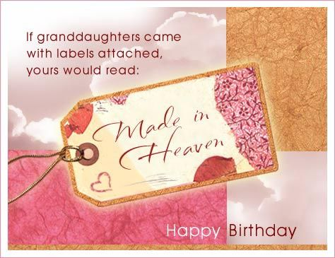 As The Quote Says Description Funny Granddaughter Birthday Cards