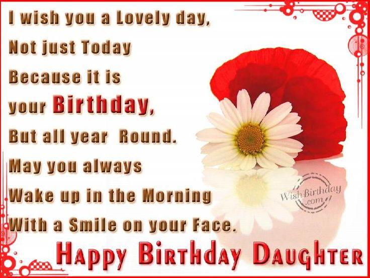 Birthday Quotes Funny Happy Birthday Daughter Quotes Google