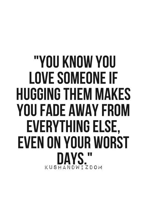 Birthday Quotes I Love This Quote I Feel Like This Hugging My