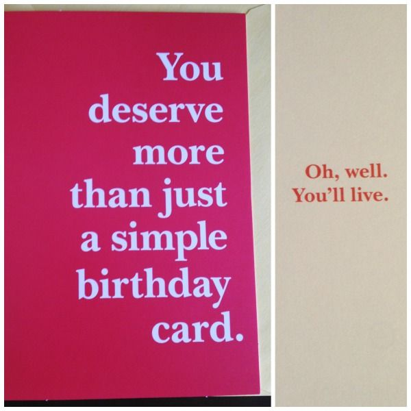 As The Quote Says Description Perfect 21st Birthday Card