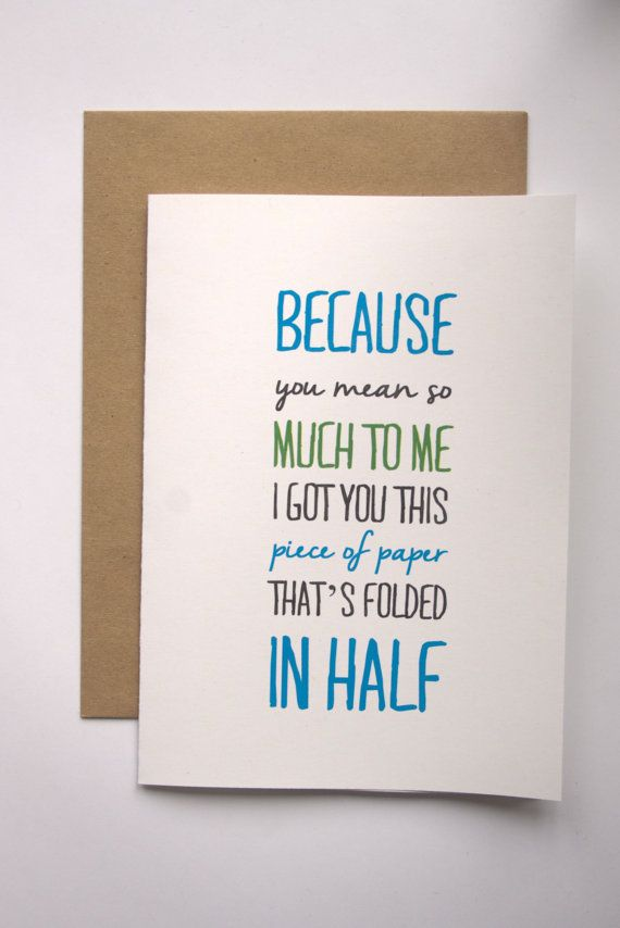 Birthday quotes recycled card cheeky greeting all occasion friend as the quote says description m4hsunfo