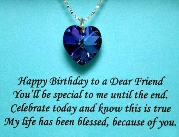 Birthday Quotes Very Special Birthday Wishes For Friend Quotes