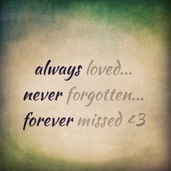 Missing Quotes Always Loved Never Forgotten Forever Missed