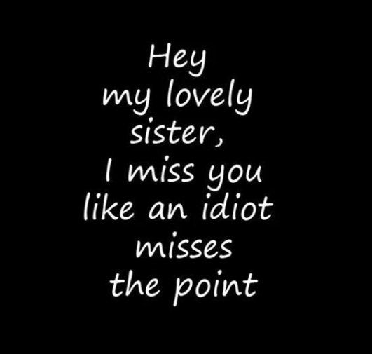 Positive Quotes : 28 Funny Sister Quotes To Laugh Challenge 1