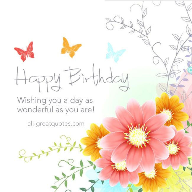 Quotes About Birthday Happy Birthday Free Birthday Cards To