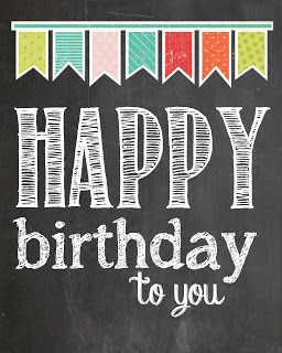 Happy Birthday Free Printable Just Print It Out And Make Easy Cards