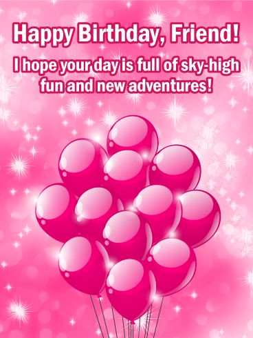 Birthday Quotes Full Of Sky High Fun Happy Birthday Card For