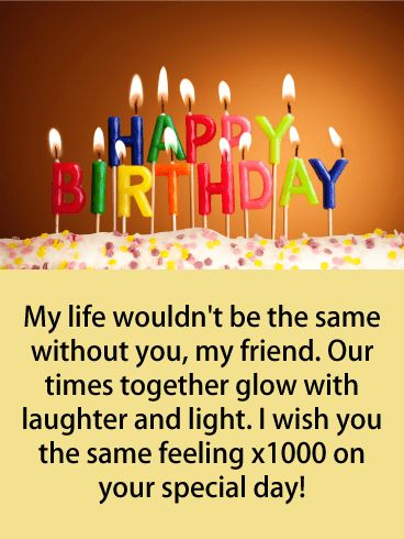 Birthday Quotes Send Laughter Happy Birthday Card For Friends
