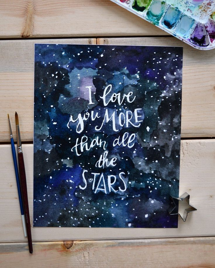 Positive Quotes Outer Space Art Nursery Art Nursery Decor Love