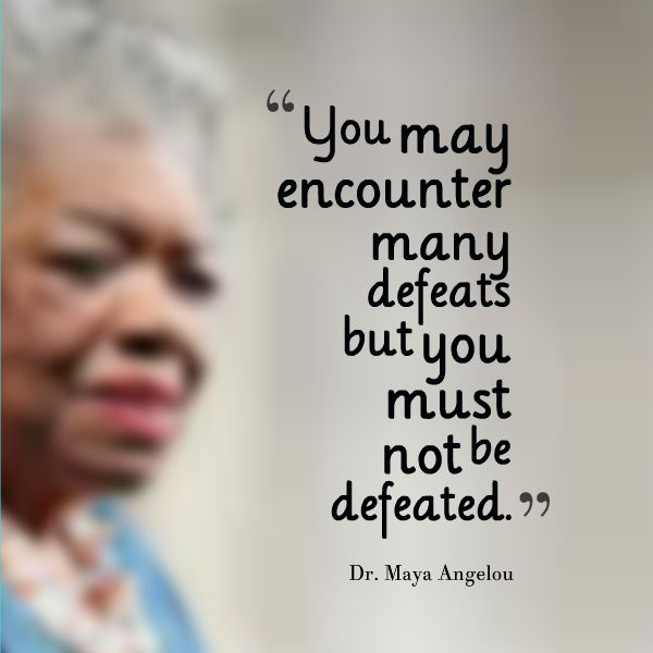 Positive Quotes Rest In Peace To A Phenomenal Woman Dr Maya