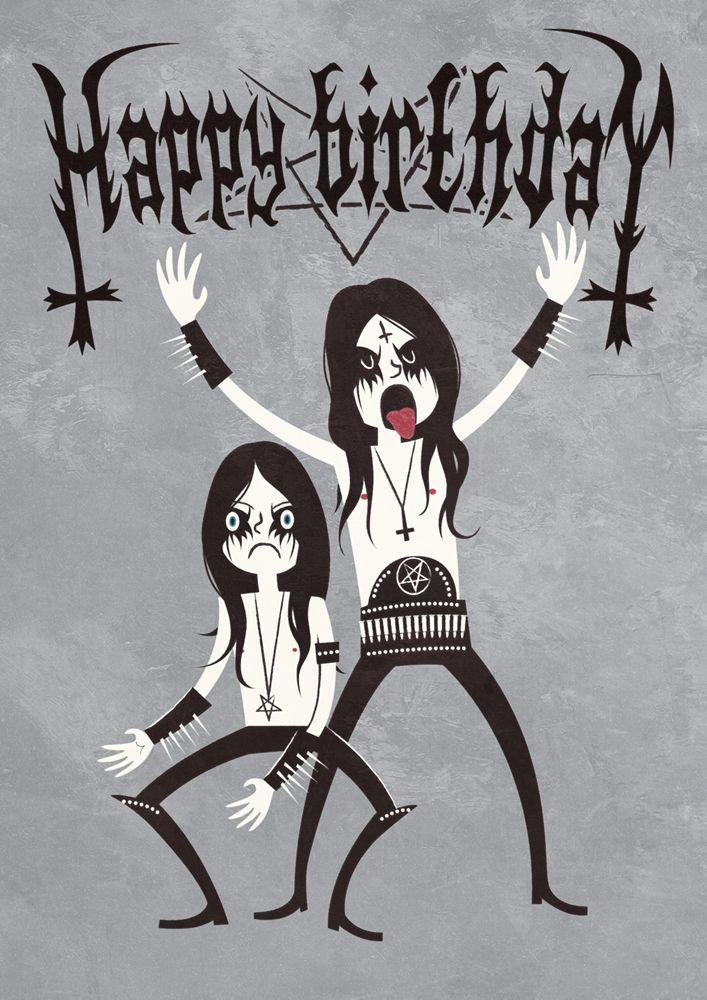 Birthday Quotes Black Metal Birthday By Nemons On Deviantart