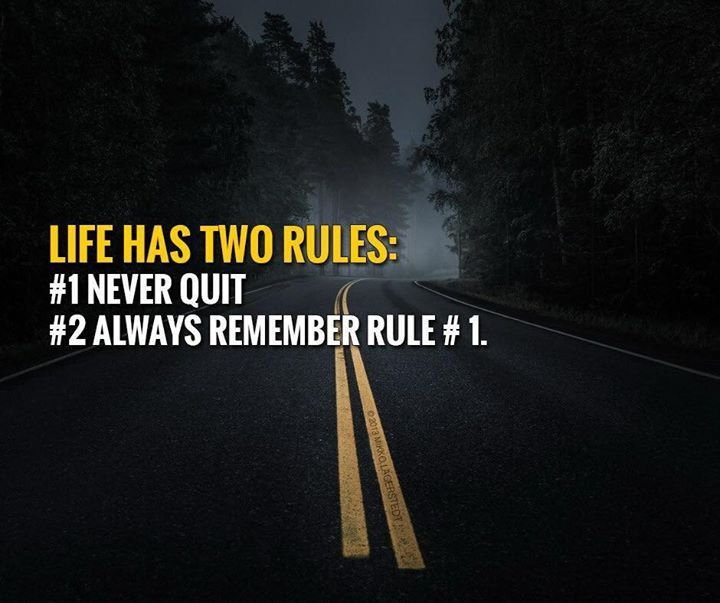 Best Positive Quotes Life Has Two Rules Quotes Of The Day Extraordinary Famous Positive Quotes About Life