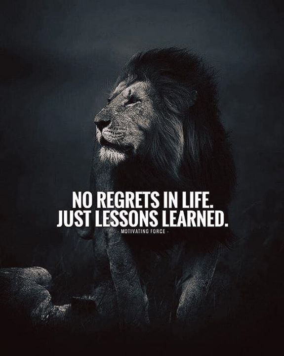 Top 100+ Life Quotes No Regrets